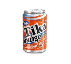 tika carbonated cola u0026 orange soft drink canned 4x6x33cl buy