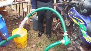 air powered water pump motorcycle driven water pump youtube