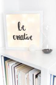 Schlafzimmer Bilderrahmen Kleine Diy Lightbox Diy Deko Schlafzimmer Ideen Und
