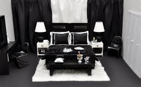 black and white bedroom furniture minimalist dark brown color