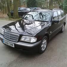 1999 black mercedes left drive mercedes c class n 8671