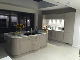 Kitchen Design Uk by Masterclass Nevada Heritage Grey Kitchen With Stone Island