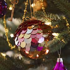 Christmas Decorations You Can Make At Home - diy sparkling christmas ornaments christmas decorations allyou com