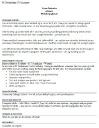 Sample Resume Maintenance Technician by Maintenance Technician Cv Example Icover Org Uk