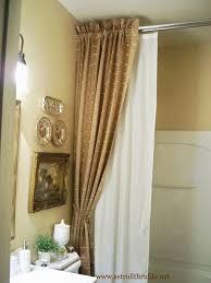 bathroom curtain ideas pinterest bathroom shower curtain ideas pinterest photogiraffe me