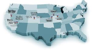 Wisconsin Casino Map by Our Properties Affinity Gaming Locations Portfolio