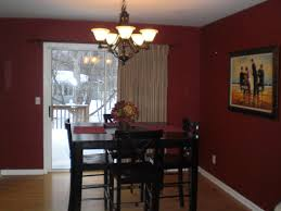 terrific curtain ideas for dining room with red door certain home