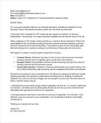 email cover letter sle application cover letter 9 exles in word pdf