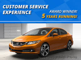 2017 new honda civic coupe touring cvt at honda of spring serving