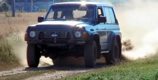 nissan patrol 1990 off road nissan patrol gr twin cam turbo gt r motor youtube