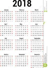 Calendario 2018 Feriados Portugal Kalender 2018 Vektor Abbildung Bild 42323201