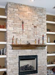 style cool reface brick fireplace ideas before and after