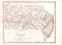 Map Of Pennsylvania by File 1835 Bradford Map Of Pennsylvania And New Jersey