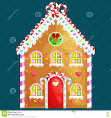 gingerbread house decorated candy icing and sugar christmas
