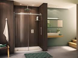 Bathroom Glass Sliding Shower Doors by Bathroom Magnificent Sliding Shower Door Design With Frosted