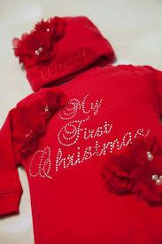 my christmas baby girl baby christmas personalized