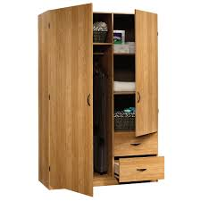 Real Wood Armoire Solid Wood Wardrobe Closet Roselawnlutheran