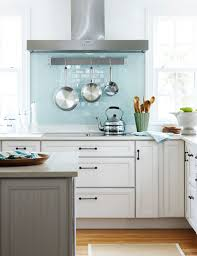 pegboard kitchen ideas shades of blue stone wall tile stainless