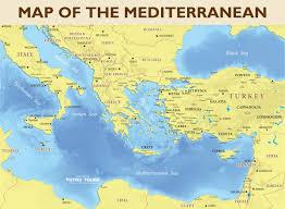 Beirut On Map Tutku Tours Mediterranean Maps Map Of The Eastern
