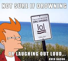 Not Sure If Serious Meme - lol over bacon futurama fry not sure if know your meme
