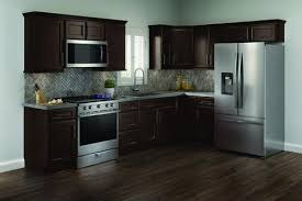 kitchen cabinets and countertops at menards cardell cornerstone collection rockney 19 l kitchen
