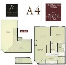 1 bedroom with loft floor plans biltmore square condo floor plans