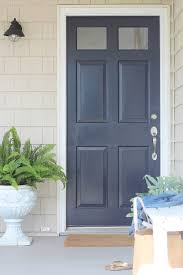 Exterior Door Color Front Door Makeover It S Amazing What Paint Can Do City Farmhouse