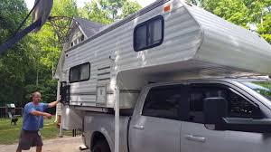 Dodge 1500 Truck Camper - 2017 dodge ram 2500 stock coils loaded with a truck camper youtube
