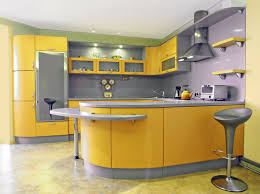 Grey And Yellow Kitchen Ideas Kitchen Yellow Normabudden Com