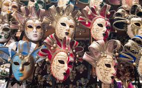 carnival masks for sale venice shopping