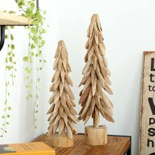 original wooden tree for decoration or gift