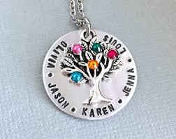 grandma necklace like branches on a tree poem family tree