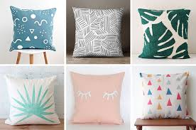 Modern Throw Pillows For Sofa Home Decor Idea Liven Up Your Living Room With Some Colorful And