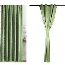 100 Curtains Olive Green Soft Curtains 52 95