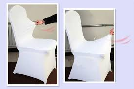 hot sale new design cheap white spandex chair cover for weddings