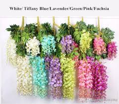 best quality upscale artificial bulk silk flowers bush wisteria