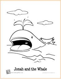 jonah and the whale free printable coloring page