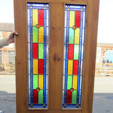 stained glass interior door stained glass interior doors