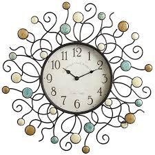 outdoor clocks wayfair sunburst oversized 22 5 wall clock loversiq