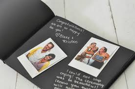 black page photo album moleskine black page album moleskinealbum polaroidguestbook