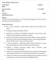 finance resume samples 21 free word pdf documents download