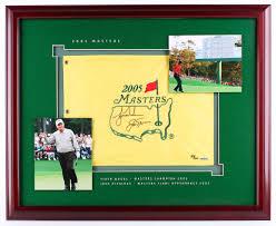 Masters Flag Online Sports Memorabilia Auction Pristine Auction