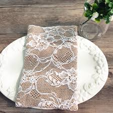 wedding favor containers vintage lace wedding favor bag burlap linen bridal shower sachet