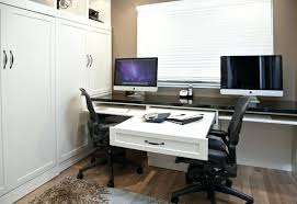 2 Person Desk For Home Office Dual Desk Home Office 2 Person Computer Image For Two