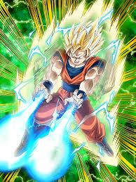 whirlwind strike super saiyan 2 goku dragon ball dokkan battle