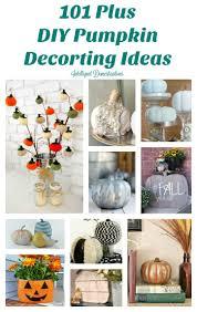 101 diy pumpkin decorating ideas
