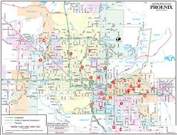 Map Of Phoenix by Map