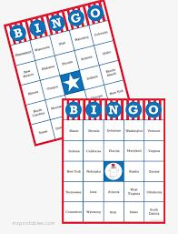 united states of bingo mr printables
