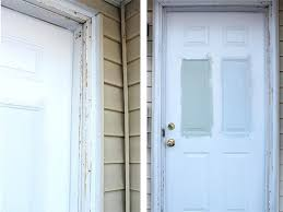 How To Replace Exterior Door Exterior Door Trim How To Install Exterior Trim Home Exterior Door