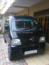 suzuki every van automart lk registered used suzuki every van for sale at